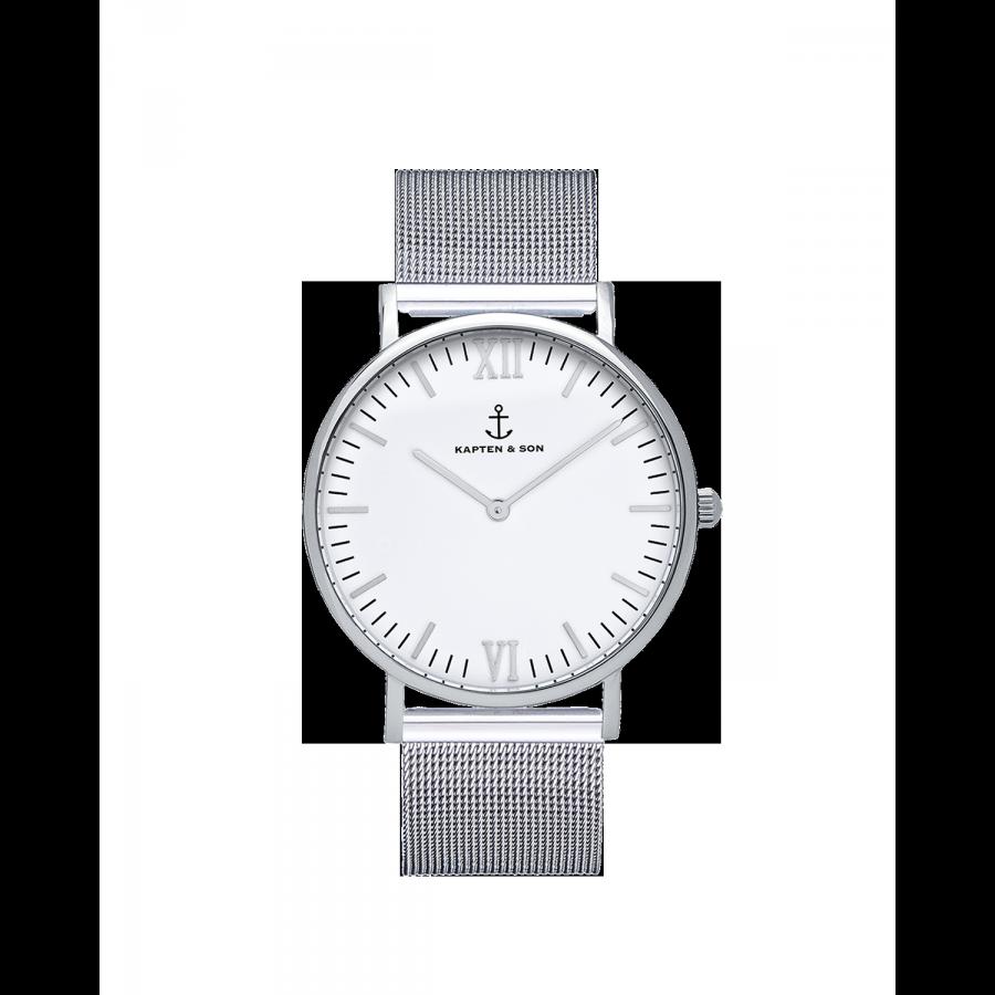 Silver White Mesh